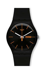 Swatch Dark Rebel SUOB704 Watch (New with Tags)
