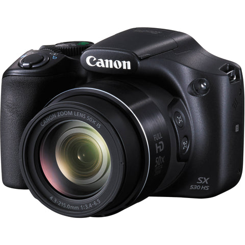 Canon PowerShot SX530 HS Black Digital Camera