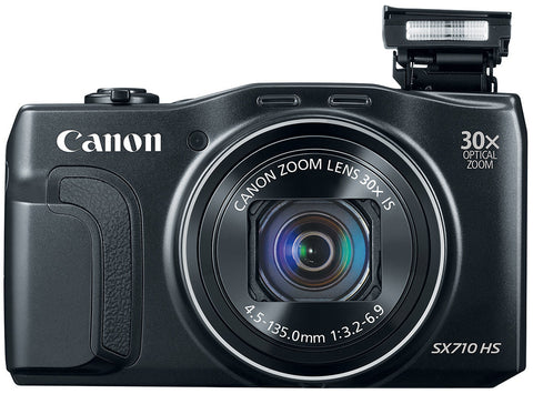 Canon PowerShot SX710 HS Black Digital Camera