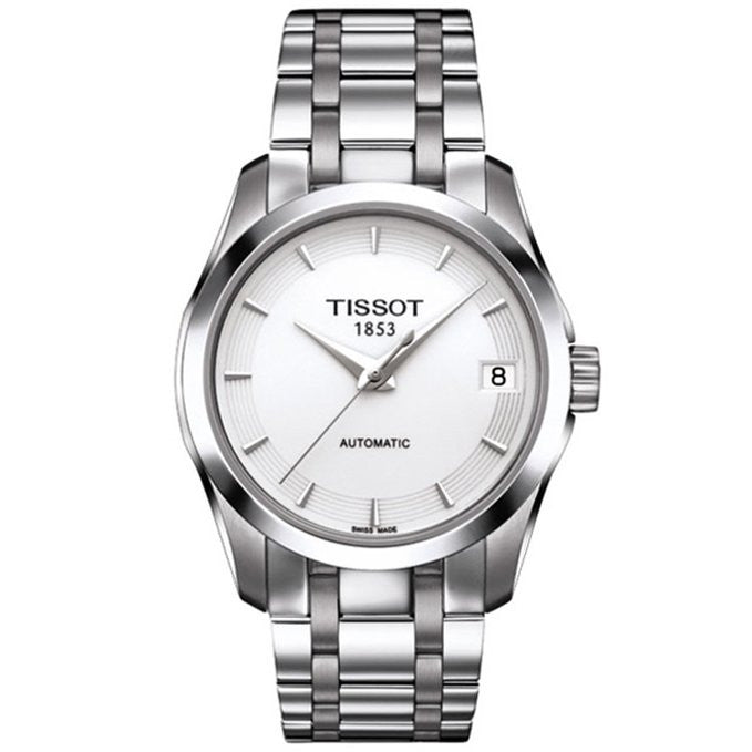 Tissot T-Trend Couturier T0352071101100 Watch (New with Tags)