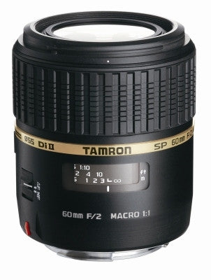 Tamron SP AF 60mm F/2 Di II Macro 1:1 LD [IF](Sony) Lens