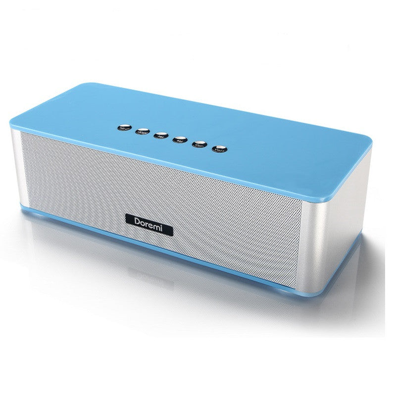 Generic Bluetooth Mini Subwoofer Speaker Phone (Blue)