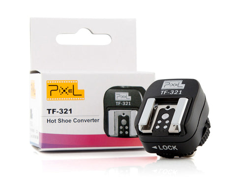 Pixel TF-321 Hot Shoe Converter for Canon