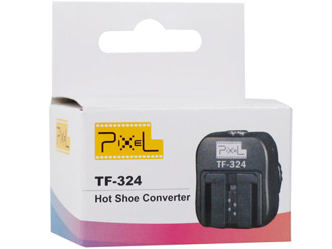 Pixel TF-324 Hot Shoe Converter for Canon/Nikon Convert to Sony