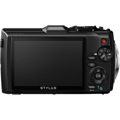 Olympus Stylus Tough TG-4 Black Digital Camera