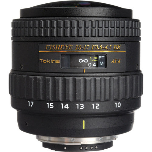 Tokina AT-X 107 AF DX NH 10-17mm f/3.5-4.5 Fisheye (Canon) Lens