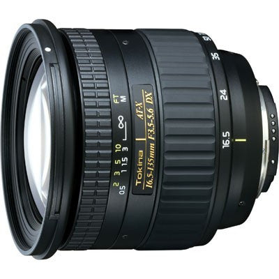 Tokina AT-X DX 16.5-135mm F3.5-5.6 (Canon) Lens