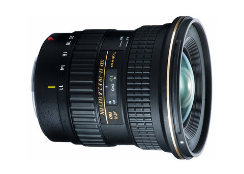 Tokina AT-X 11-20mm f/2.8 PRO DX (Canon) Lens