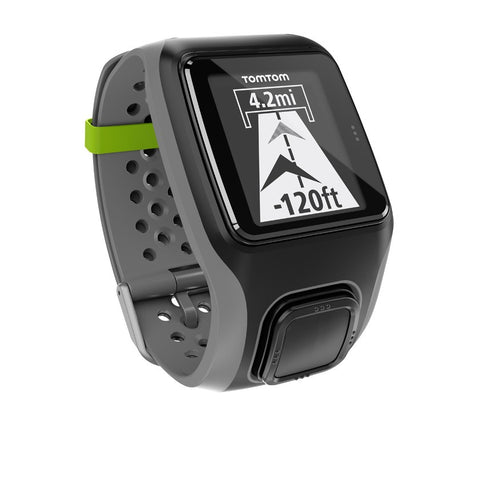 TomTom Multi-Sport GPS Watch with Heart Rate Monitor (Dark Grey)