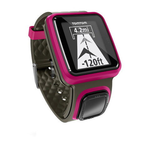 TomTom Runner GPS Watch (Dark Pink)