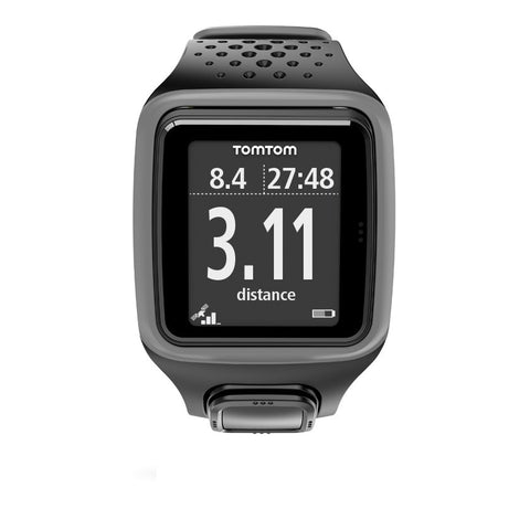 TomTom Runner GPS Watch with Heart Rate Monitor (Dark Grey)
