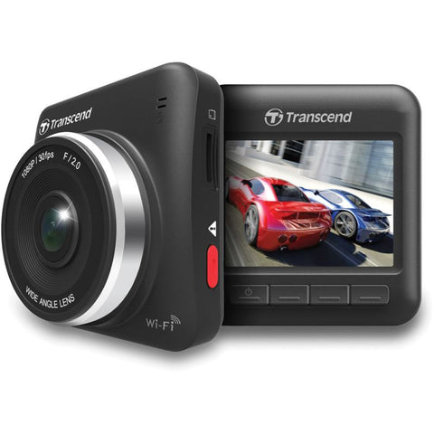 Transcend DrivePro 200 Car Video Camera and Camcorder with Suction Mount