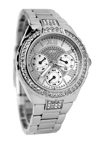 Guess Mid-Size Sparkling Hi-Energy U0111L1 Watch (New With Tags)
