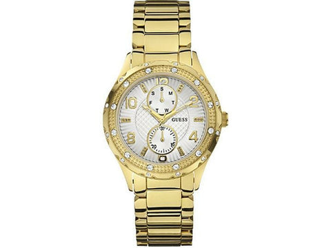 Guess Chronograph Crystal Accented Quartz U14503L1 Watch (New With Tags)