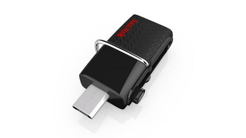 SanDisk Cruzer Ultra Dual SDDD2-016G USB 3.0 Drive for Smartphones and Tablets 16GB