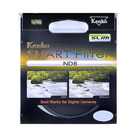 Kenko 55mm Slim Smart ND8 Filter