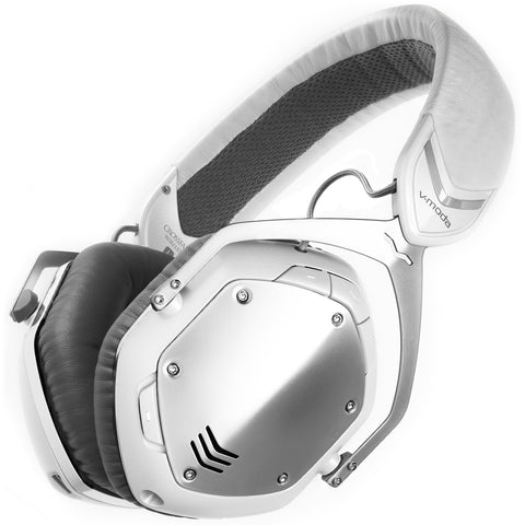 V-Moda Crossfade Wireless Over-Ear Headphone White Silver