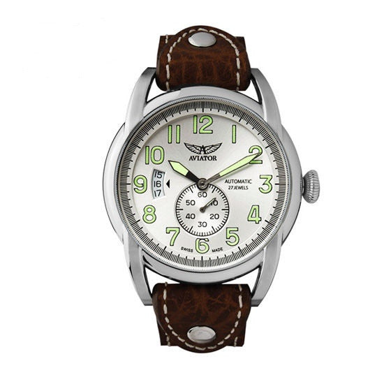 Aviator Bristol Mechanical V30700194 Watch (New with Tags)