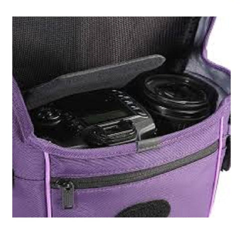 Vanguard Pampas II 18PR Shoulder Bag for Basic DSLR (Purple)