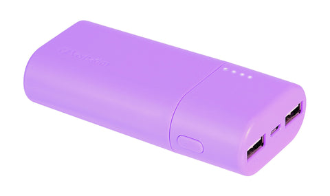Verbatim 5200 mAh Power Pack (Purple)