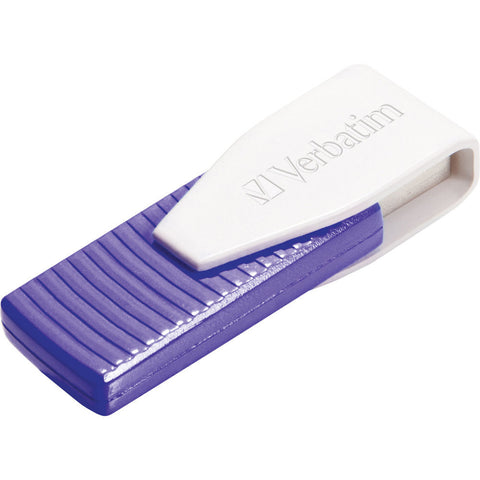 Verbatim Store´n´Go Swivel 64GB USB Flash Drive (Purple)