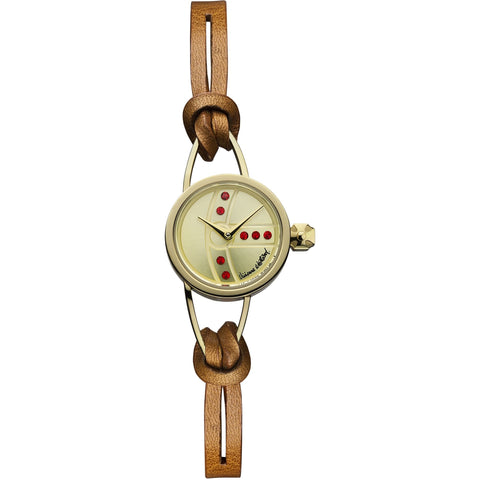 Vivienne Westwood Chancery VV081GDBR Watch (New with Tags)