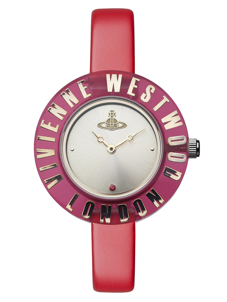 Vivienne Westwood Clarity VV032RD Watch (New with Tags)