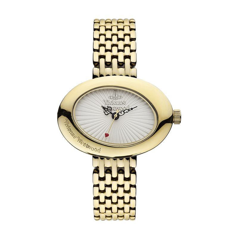 Vivienne Westwood Ellipse VV014WHGD Watch (New with Tags)