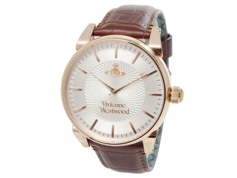 Vivienne Westwood Finsbury VV065RSBR Watch (New with Tags)