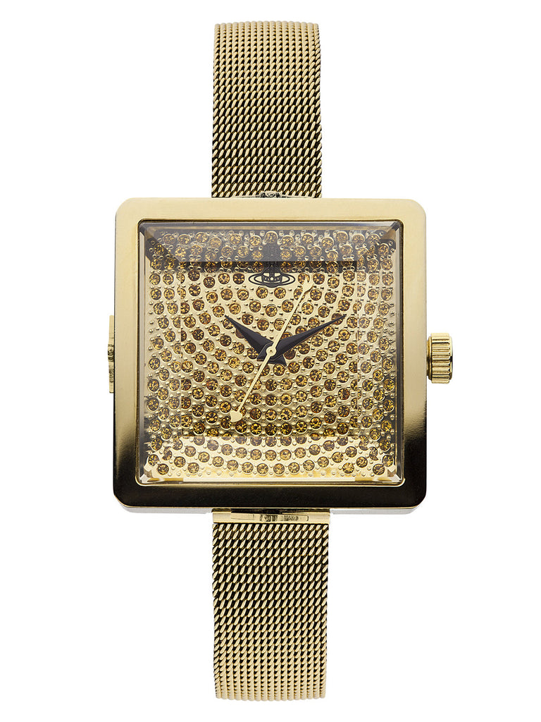 Vivienne Westwood Lady Cube VV053GDGD Watch (New with Tags)