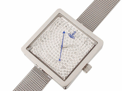 Vivienne Westwood Lady Cube VV053SLSL Watch (New with Tags)