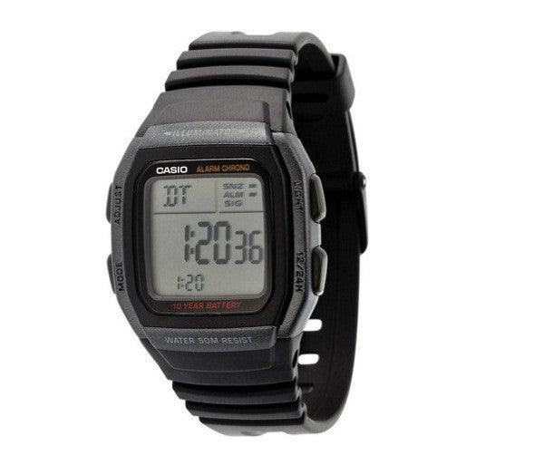 Casio Youth Digital W-96H-1BV Watch (New with Tags)