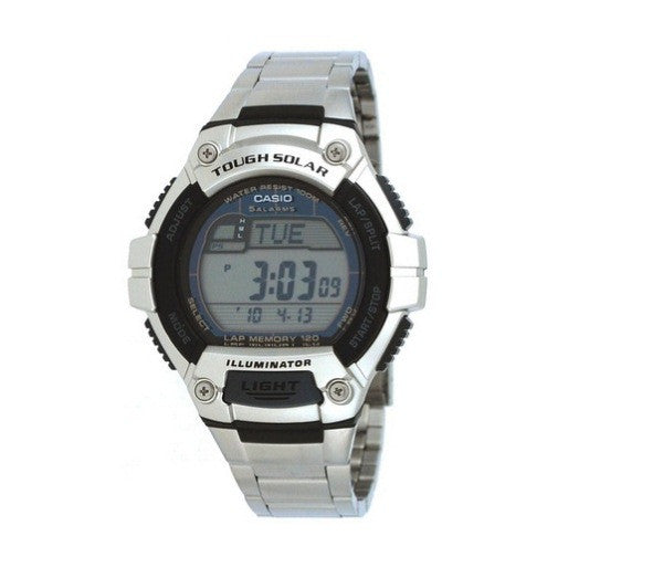 Casio Standard Solar Powered Digital W-S220D-1A Watch (New with Tags)