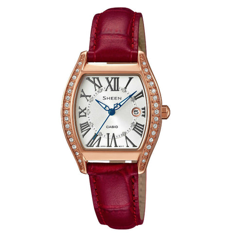 Casio Sheen SHE-4046PGL-7A Watch (New with Tags)