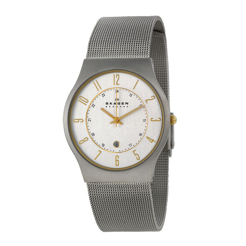 Skagen Slimline 233XLSGS Watch (New with Tags)