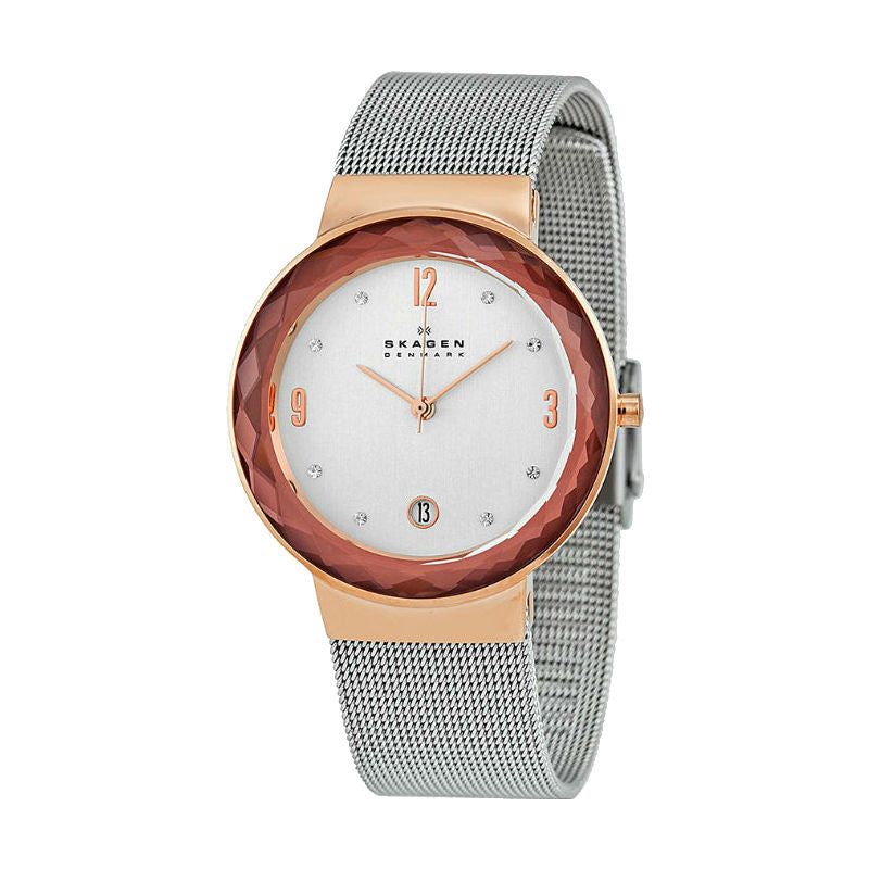 Skagen Leonora 456LRS Watch (New with Tags)