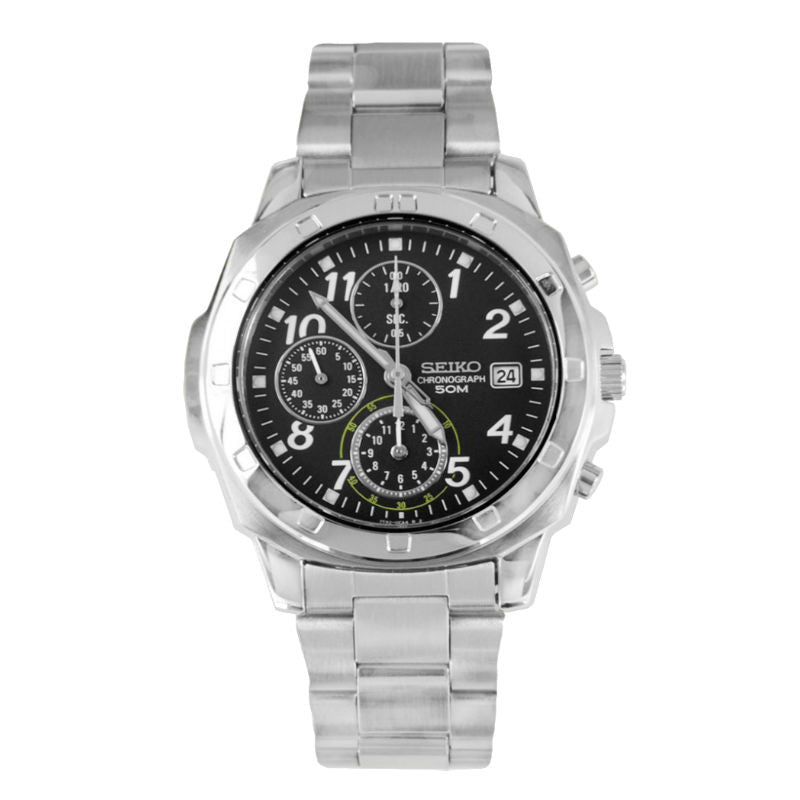Seiko Chronograph SND195 Watch (New with Tags)