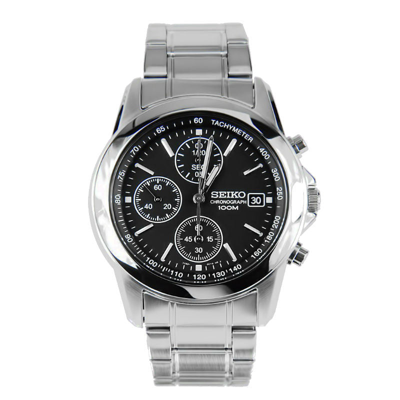 Seiko Chronograph SND309 Watch (New with Tags)