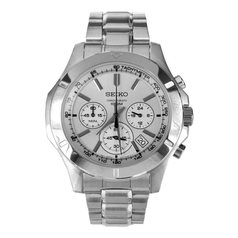 Seiko Chronograph SSB099 Watch (New with Tags)