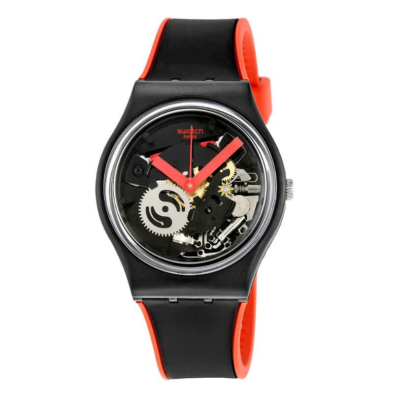 Swatch Red Frame GB290 Watch (New with Tags)