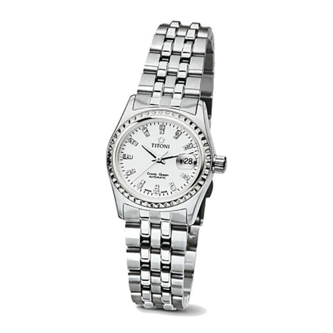 Titoni Cosmo Queen Series 728S307 Watch (New with Tags)