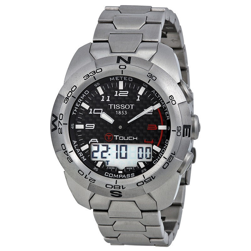 Tissot T-Touch Expert Titanium T0134204420200 Watch (New with Tags)