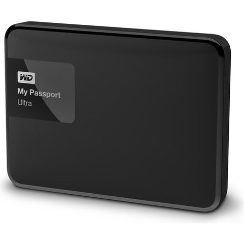 WD My Passport Ultra USB 3.0 3TB External Hard Drive WDBBKD0030BBK-CESN (Black)