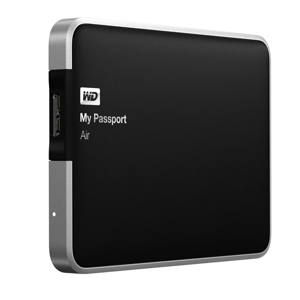 WD Elements My Passport Air for Mac USB 3.0 500GB External Hard Drive WDBBLW5000AAL-PESN