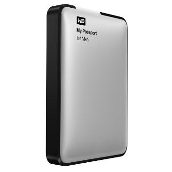 WD Elements My Passport for Mac USB 3.0 500GB External Hard Drive WDBLUZ5000ASL-PE