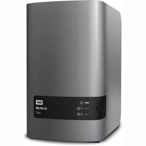 WD My Book Duo USB 3.0 12TB External Hard Drive WDBLWE0120JCH-SESN