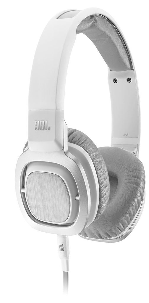 JBL J55i High Performance On-Ear Headphones White