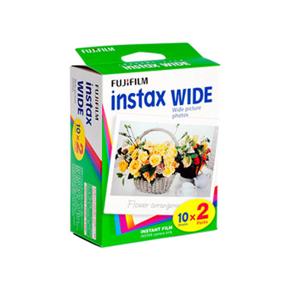 Fuji Film Instax Wide Color Film (20 Sheets)