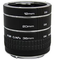 Kenko Automatic Extension Tube Set (Sony NEX) Lens