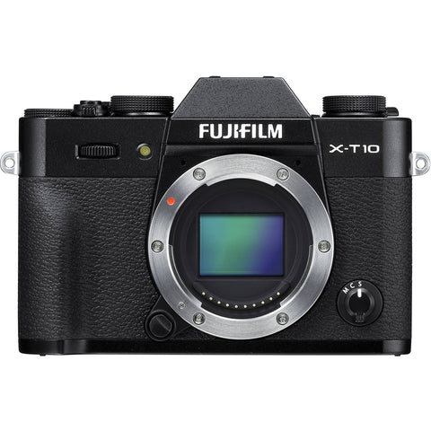 Fujifilm X-T10 Kit with 18-135mm Black Mirrorless Digital Camera